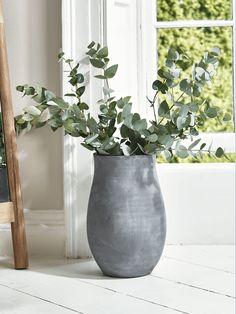 Grey Terracotta Urn