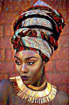 African Art Paintings, Cool Paintings, Afrique Art, Art Africain, Black Artwork, Afro Art, Black Women Art, African American Art, Dope Art