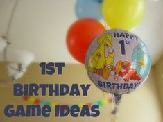 Planning a first birthday but want some game ideas? Here are some simple and fun activities for your child's party.