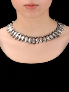 Buy Silver Tribal Necklace Jewelry Classic Charm Handcrafted Online at Jaypore.com