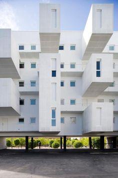 Carabanchel Housing by dosmasuno arquitectos, located in Madrid, Spain