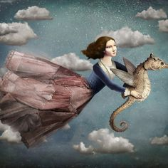 Voyage in the sky by Christian Schloe
