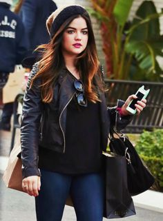 #Lucy Hale #pretty little liars. ...she has the cutest style