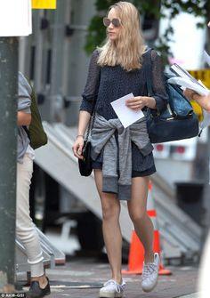 Suki Waterhouse - On set of 'Divergent' sequel in Atlanta, Georgia.  (June 2014)