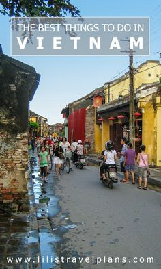 The best things to do in Vietnam.    For more great pins go to @KaseyBelleFox