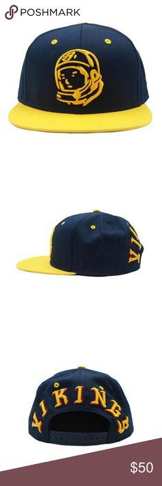 Billionaire Boys Club Helmet Vikings Snapback Hat Billionaire Boys Club  Helmet Vikings Snapback   Raised embroidery Helmet logo   Peacoat (dark  navy blue) ... 2536e4492496