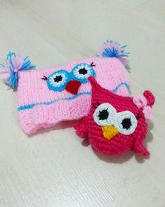 Amigurumi örgü baykuş handmade owl