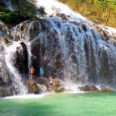 Lapopu Waterfall in Sumba Island