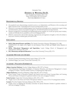 Academic cv writing phd
