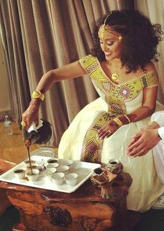Gorgeous Traditional Habesha Dresses for Sale - Ambessa Weddings