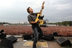 Bruce Springsteen in un concerto sold-out.