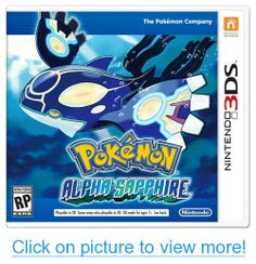 Pokémon Alpha Sapphire - Nintendo Soar high above the Hoenn region on an unforgettable quest to be the very best Pokemon Trainer. As you catch, battle, and Pokemon 3ds, Pokemon Latias, Pokemon Alpha, Pokemon Games, Pokemon Videos, Pokemon Moon, Pokemon Stuff, Sapphire Pokemon, Pokemon Omega Ruby