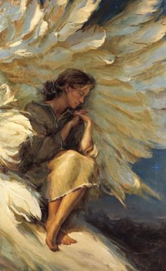 Daniel F. Gerhartz (American, 1965) ~ 'In The Shadow Of Your Wings'