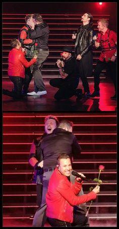Backstreet Boys with Joey Fatone