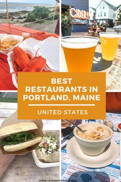 Best Restaurants In Portland, Best Lobster Roll, Lobster Rolls, Best Lobster In Maine, Visit Maine, Visit Usa, Usa Travel Guide, Travel Usa, Buenos Aires