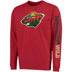 reputable site c5e27 d55dc Men s Minnesota Wild Gear, Men s Wild Apparel, Guys  Clothes. Men s  HockeyHockey ShirtsHockey ...