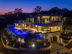 1251 Shadow Hill Way, Beverly Hills Property Listing: MLS® #c11605 #modernpoolbeverlyhills