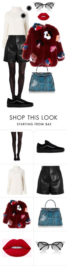 """""""Senza titolo #2384"""" by monsteryay ❤ liked on Polyvore featuring SPANX, Vans, Diane Von Furstenberg, Balenciaga, Fendi and Marc Jacobs"""
