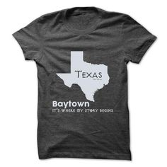 Baytown - Texas - Its Where My Story Begins ! Ver 2 - #gift bags #gift girl…