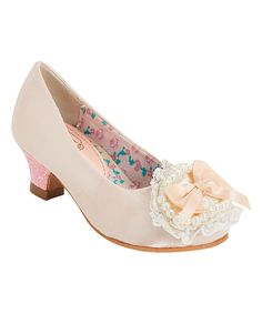 Look at this China Doll Pink Catuona Pump on #zulily today!