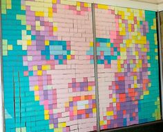 Warhol's Marilyn in color squares