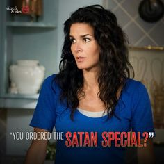 """""""He ordered the Satan Special?"""" Jane ~ Rizzoli & Isles"""