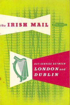 British Railways - The Irish Mail - leaflet, c1955 by mikeyashworth, via Flickr
