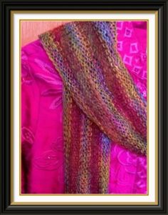 Summer Scarf - Free Knitted Pattern - (knit-knitting-stitches)