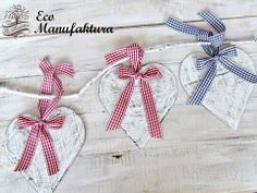 christmas decor hand made shabby chic by Eco Manufaktura