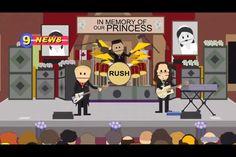 Rush on South Park