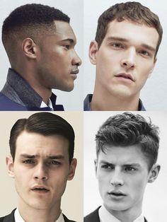 Längliche Gesichtsform Frisuren Männer