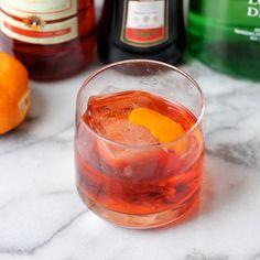 #Negroni, #campari, #gin, #vermouth, #orange