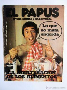 El Papus Año 1 Numero 1 20 de Octubre de 1973. ¡¡HISTORICO!! - Foto 1