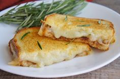 """""""Rosemary's Cheese Baby"""" Grilled Cheese   13 Most Epic Ways To Up Your Grilled Cheese Game"""