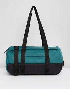 851b874e12e1 Rains Duffle Bag in Dark Teal - Green Dark Teal