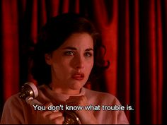 therealhousewivesoftwinpeaks:    i dare you to find someone with a prettier crying face than audrey horne