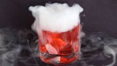 Dry ice – the magic ingredient for drinks
