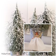 Luonnonmateriaalista Diy Christmas Garland, Christmas Love, Christmas Trees, Table Decorations, Holiday Decor, Wedding Dresses, Crafts, Home Decor, Crafting