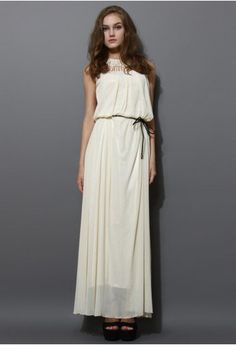 pleated floor length dress - Google Search