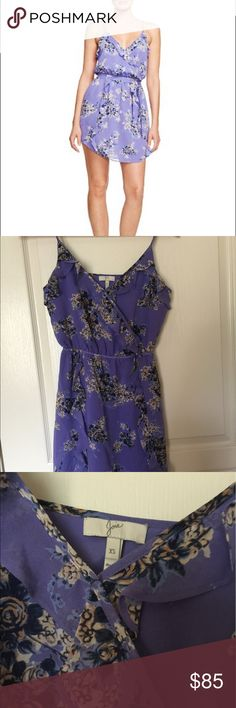 Joie Foxglove Floral Ruffle Dress Good preowned condition. Does not include the sash Joie Dresses