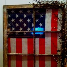 Flag window. One of several I've done.