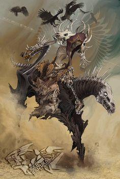 ArtStation - Horsemen of the Apocalypse 2013, Liger Inuzuka