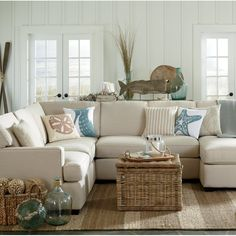 Get inspired by Coastal Living Room Design photo by Krista + Home. Wayfair lets you find the designer products in the photo and get ideas from thousands of other Coastal Living Room Design photos. Coastal Bedrooms, Coastal Living Rooms, Coastal Curtains, Coastal Bedding, Master Bedrooms, Bedroom Sets, Bedroom Decor, Whale Decor, Beach Living Room