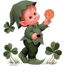 Retro Clipart st patricks day 11 - 236 X 269 Saint Patricks Day Art, St Patricks Day Cards, Happy St Patricks Day, St Patricks Day Pictures, Irish Images, St Patrick's Day Decorations, Gnome, Irish Blessing, Saint Patrick's Day