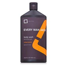 Every Man Jack Body Scrub Citrus at DermStore, get your dad the 'good stuff' for Father's Day!