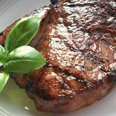 Culinary Word of the Day: Savory Garlic Marinated Steaks  Looking for a Father's Day recipe? Make Dad's day delicious with this tender and juicy steak recipe.
