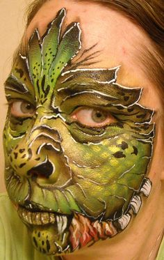 Dragon Flower Design Linda Schrenk/Amazing Face Painting by Linda, Jacksonville FL