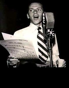 Frank Sinatra, the voice, great actor too. So multi-talented!