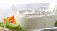 Serve this versatile dip with assorted cut-up vegetables, crackers or chips. Or, use as a topping for baked potatoes.
