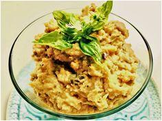 Mascarponés, fűszeres karfiolkrém Risotto, Breakfast, Ethnic Recipes, Food, Mascarpone, Morning Coffee, Essen, Meals, Yemek